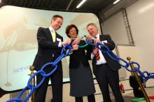 Servera invigde nytt lager i Halmstad