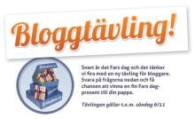 Bloggtävling - vinn Fars dag presenter från Bluebox.se!