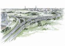 Veidekke bygger ny trafikplats vid Rinkeby