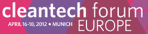 Cortus CEO Rolf Ljunggren speaks at Cleantech Forum Europe 2012