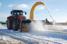 Snörik vinter sätter fart på försäljningen av snöslungor