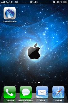 Ny app för Iridium AxcessPoint tillgänglig i App Store