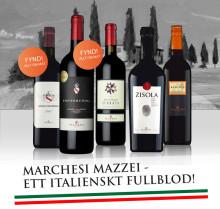 Marchesi Mazzei till The Wineagency - Italienska fullblod till salu!