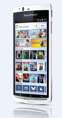 Nu finns Sony Ericsson Xperia arc S hos 3