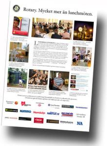 Lindesbergs utveckling engagerar: Öppna lunchmöten succé för Rotary i förnyelse