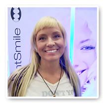 Regina Lund blekte sina tänder på CIDESCO -10