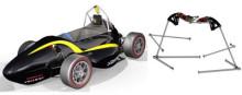 Lesjöfors sponsrar racingbil med chassifjädrar