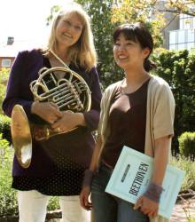 Hjälparbete, hälsoträdgård och stämningsfull musik i vårens kulturluncher