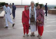 Lisa ledde samarbete för barns skydd i Pakistan