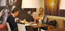 Læs avisen og tjek din e-mail i Statoils nye lounge