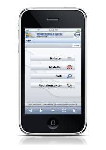 Volvo Personvagnars Newsroom - nu optimerat för iPhone