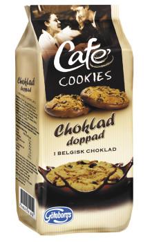 Först i Sverige – Café Cookies doppade i belgisk choklad