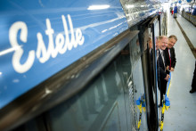 Tunnelbanevagn 2012 heter nu Estelle