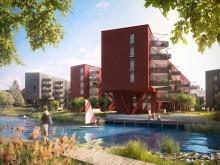 Veidekke bygger det enda Svanenmärkta flerbostadshuset i Annedal