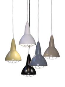 Grid LED. Fox Design presenterar pendelarmaturen för de nya ljuskällorna.