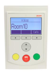 Banbrytande interaktiv rumsdisplay från Ascom förenklar patientvården