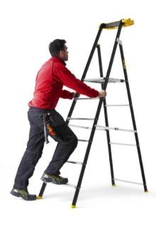 Wibe Ladders ett säkert och bra arbetsmiljöval