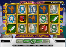 Arabian Nights Progressive Jackpot