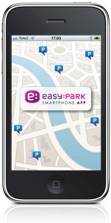 EasyPark Mobil Parkering lancerer gratis Smartphone Applikation!