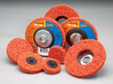 Ekstra grove rondeller til effektiv rengøring