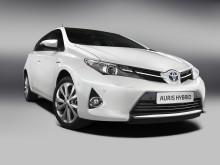 Första bilderna på nya, fräcka Toyota Auris