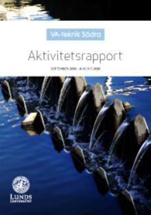 C SVU-rapport: VA-teknik Södra – Aktivitetsrapport september 2009 - augusti 2010 (avlopp)