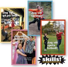 Skills! En ny bokserie för ungdomar med funktionsnedsättning ute nu!