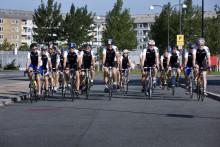 Dag 1: Så gik starten paa Tour de Vevey - 1.300 km