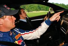 Sandell utbildar svenska ungdomar i bilkörning