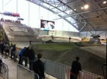 BMX-landslaget på plats i Randaberg för världscupen.