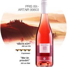 SOMMARENS ROSÉ kommer från vackra Toscana...