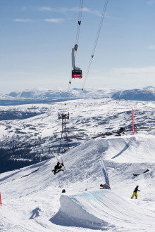 SkiStar Åre: Jibbing, skiing, sunning and biking during the best weekend of the year in Åre