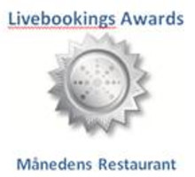 Danmark: Livebookings Awards måndelig restaurant December
