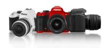 Uusi järjestelmäkamera ja objektiivi Pentaxilta