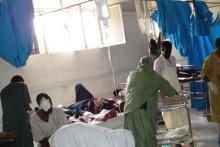 Strider i Mogadishu fyller sjukhusen