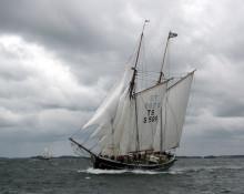 Segelfartyget Constantia kommer till Oxelösund i sommar