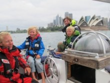 Familjen Hammarberg i Australien