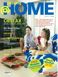 "Evorich Flooring on ""Relaxing @Home"" Magazine"