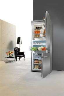 Ny exklusiv 75 cm bred kyl/frys-serie från Miele