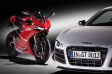 Audi köper motorcykeltillverkaren Ducati