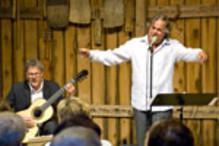 Taube i Ligurien med Mikael Samuelson och Mats Bergström