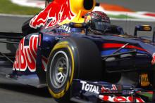 Vettel tog pole position igen i Pirellis hemmatävling på Monza