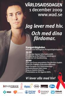 Världsaidsdagen 1 dec. 2009