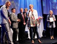 Årets UF-skola fick pris från Visma
