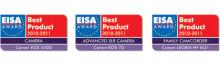 Canon vinner tre prestigefyllda EISA-utmärkelser för 2010-2011