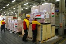 DHL hjælper den japanske regering – og leverer nødhjælpsforsyninger i Japan.