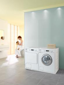 Miele W 5100 EcoCare och T 8827WP: Mieles hittills energisnålaste tvättmaskin och torktumlare