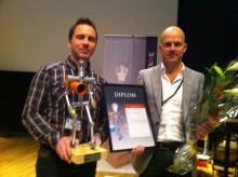 Klickväggen utsedd till bästa renoveringsprodukten i tävlingen Professionell renovering 2011