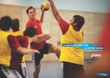 ASICS har lanceret en ny kampagne med landsholdspiller Hans Lindberg