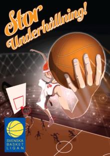 Svenska Basketligan skriver avtal med Visat Sport